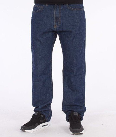 SmokeStory-Dark City Pocket Regular Jeans Medium Blue