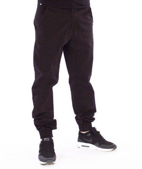 SmokeStory-Jogger Regular Classic Spodnie Czarne
