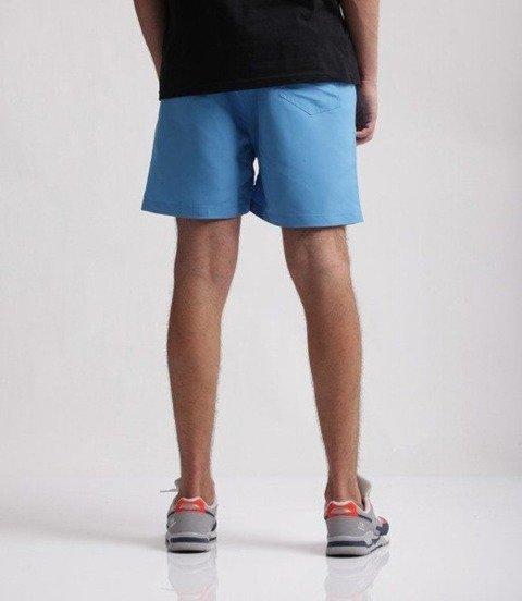 SmokeStory-Logo Krótkie Spodnie Mikrofibra Błękitne