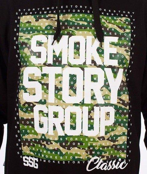 SmokeStory-Moro Dots Bluza Kaptur Czarny