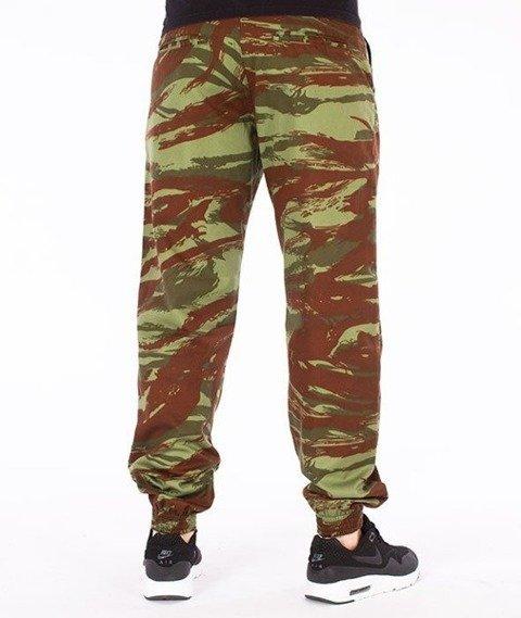 SmokeStory-Moro Jogger Regular Spodnie Moro Brązowe