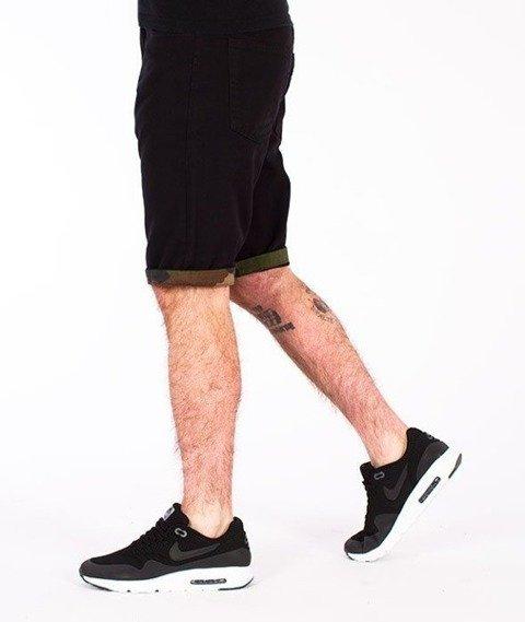 SmokeStory-Moro Wstawki Krótkie Spodnie Czarne