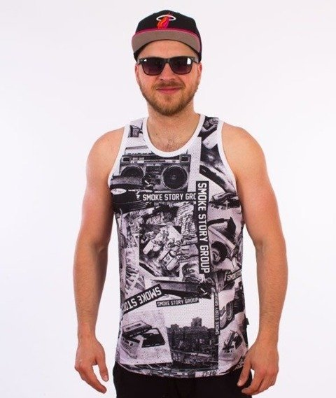 SmokeStory-Music Premium Tank Top Multikolor