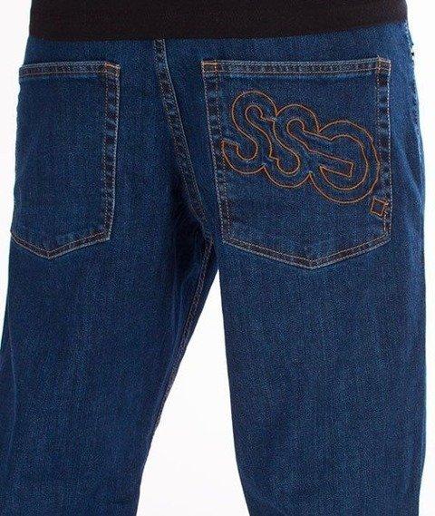 SmokeStory-Outline SSG Regular Jeans Spodnie Medium Blue