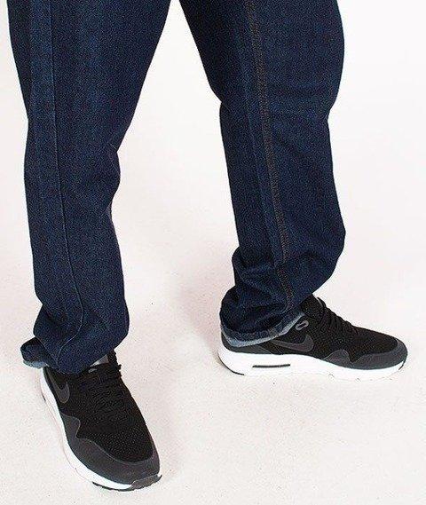 SmokeStory-Outline Slim Jeans Dark Blue