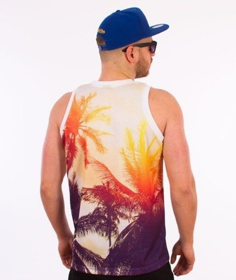 SmokeStory-Palms Premium Tank Top Multikolor