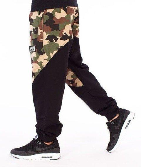 SmokeStory-Premium Moro Front Back Spodnie Dresowe Moro