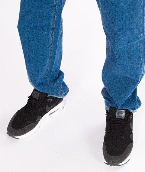 SmokeStory-SSG Big Outline Slim Jeans Light Blue