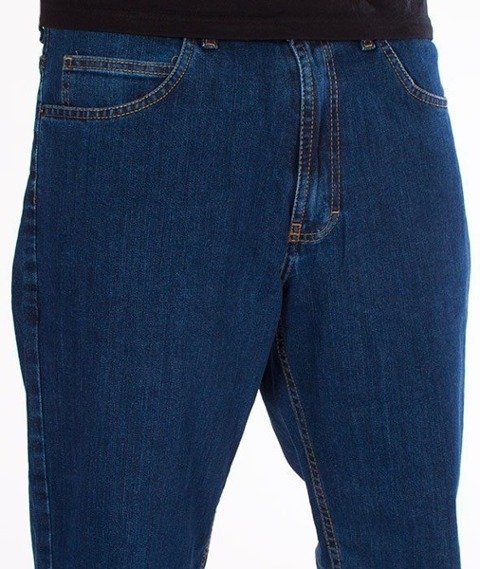 SmokeStory- SSG Classic Regular Jeans Spodnie Medium Blue