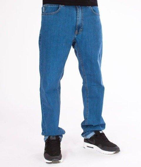 SmokeStory- SSG Classic Slim Jeans Spodnie Light Blue