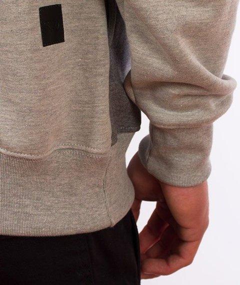 SmokeStory-SSG Cut Bottom Bluza Kaptur Jasny Melanż