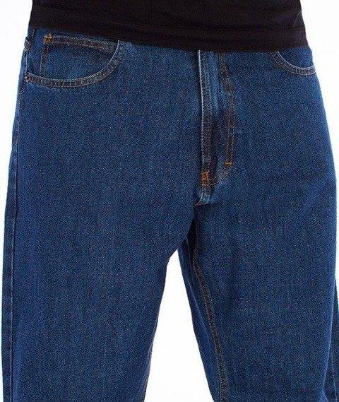 SmokeStory-SSG Tag Baggy Jeans Medium Blue