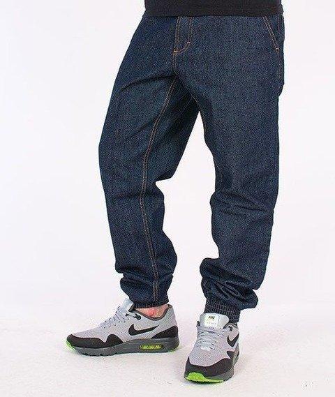 SmokeStory-SSG Tag Jogger Jeans Dark Blue