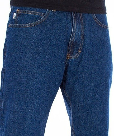 SmokeStory-SSG Tag Regular Jeans Spodnie Medium Blue