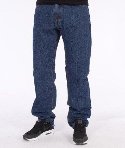 SmokeStory-SSG Tag Slim Jeans Medium Blue
