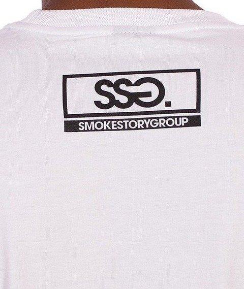 SmokeStory-Smoke Story Group T-Shirt Biały