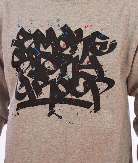 SmokeStory-Smoke Tag Colors Bluza Szara