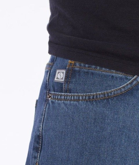 SmokeStory-SmokeStory Regular Jeans Light Blue
