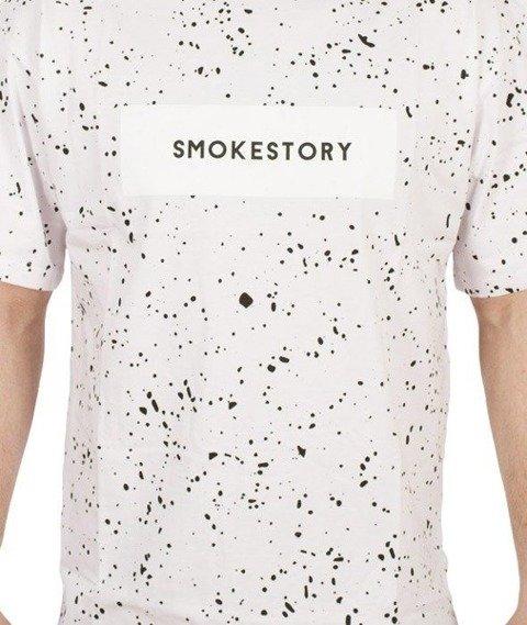 SmokeStory-Splash T-Shirt Biały