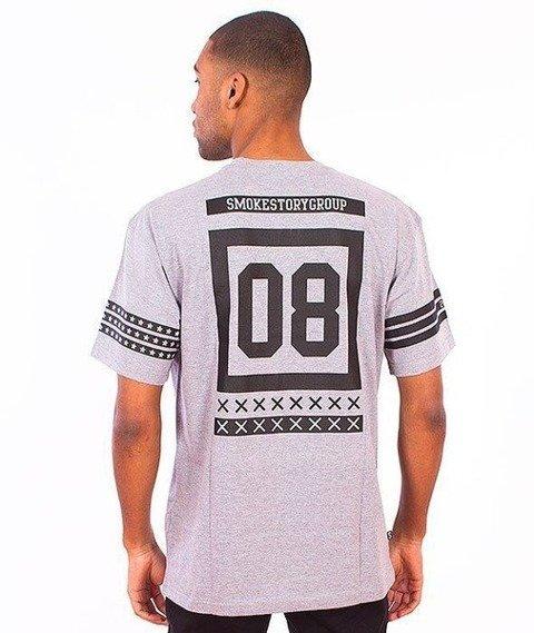 SmokeStory-Square T-Shirt Szary