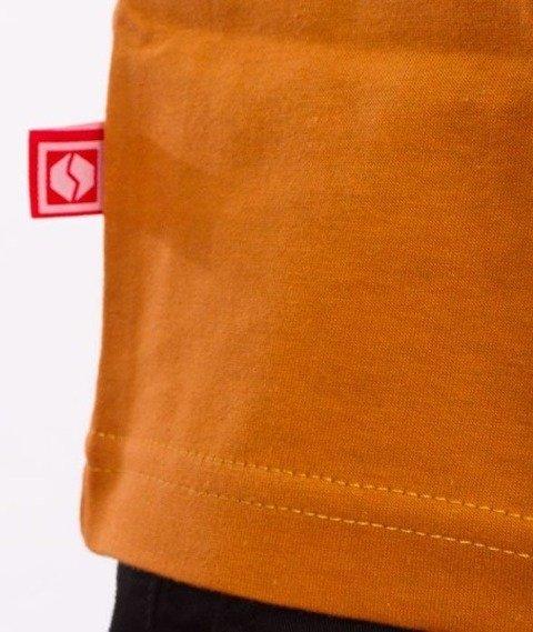 SmokeStory-Street Colors Logo T-Shirt Ceglasty