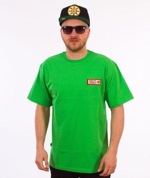 SmokeStory-Street Colors Logo T-Shirt Zielony
