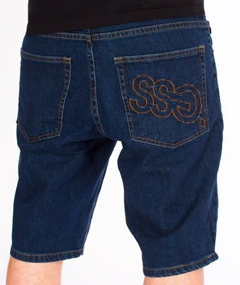 SmokeStory-Szorty Jeans Outline SSG Medium