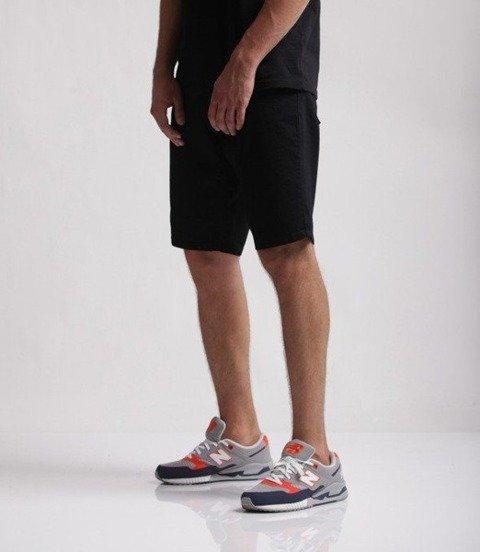 SmokeStory-Szorty Jeans SSG HAFT Black Jeans
