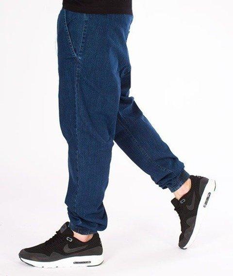 SmokeStory-Tag Jeans Jogger Regular Guma Spodnie Medium Blue