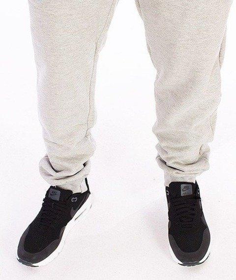 SmokeStory-Tag SSG Slim Spodnie Dresowe Szare