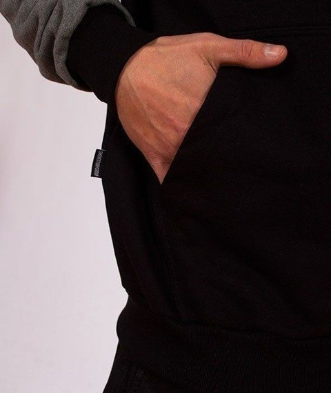 SmokeStory-Zip Belt SSG Bluza Zip Czarna