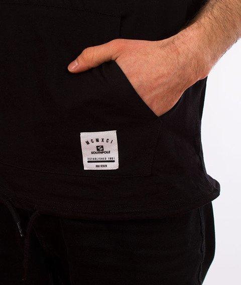 Southpole-Anorak T-shirt Kaptur Szary