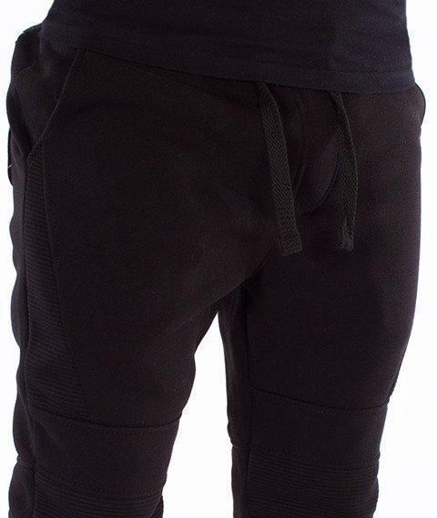 Southpole-Fleece Jogger Black Pack Spodnie Dresowe Czarne