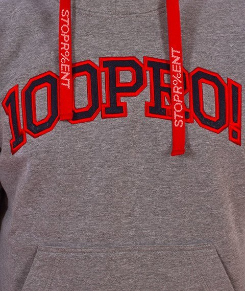 Stoprocent-100PRO17 Bluza z Kapturem Melange