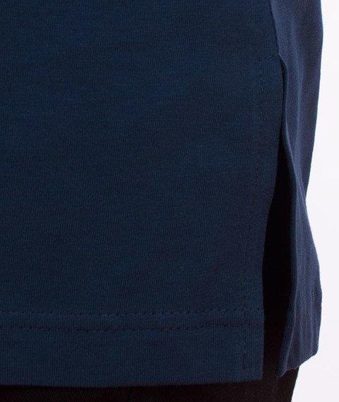Stoprocent-100proc Long T-Shirt Granatowy