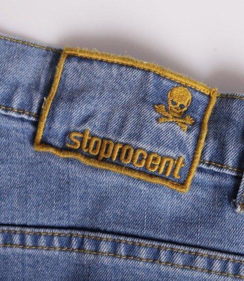 Stoprocent BAGGY SMALLTAG Jeans Niebieski