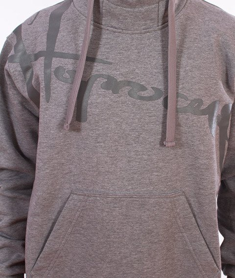 Stoprocent-BM Downhill Bluza z Kapturem Melange