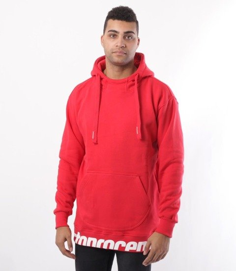 Stoprocent-BM Get Down Bluza z Kapturem Red