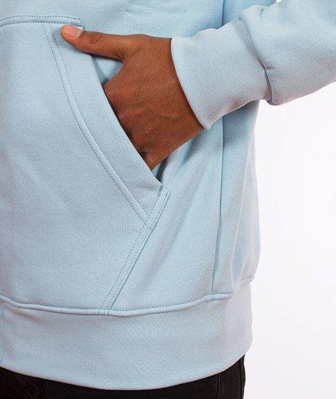 Stoprocent-BMS Tag18 Bluza Kaptur Rozpinana Blue
