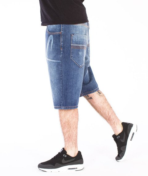 Stoprocent-Bleachtag Spodnie Krótkie Blue