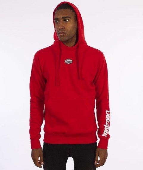 Stoprocent-CS16  Bluza Z Kapturem Czerwona