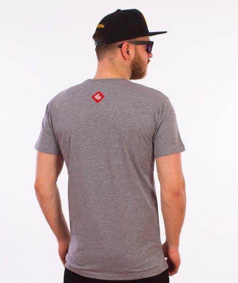 Stoprocent-CS17 T-Shirt Szary
