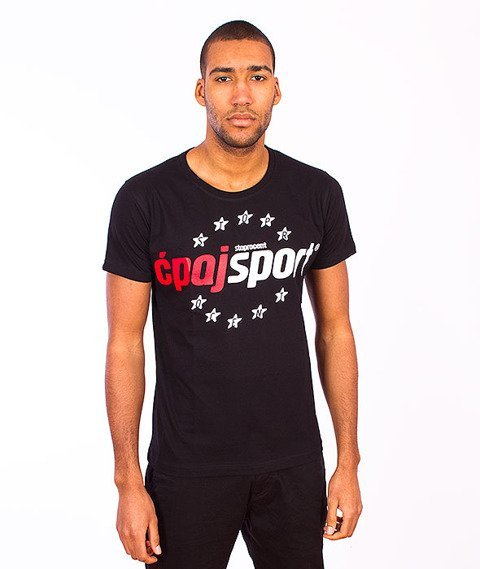 Stoprocent-Ćpaj Sport 16 T-Shirt Black