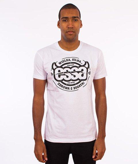 Stoprocent-Essa T-Shirt Biały