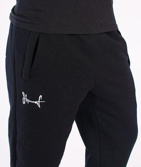 Stoprocent-Fatcap Spodnie Dresowe Czarne