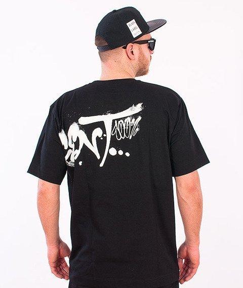 Stoprocent-Fatcap T-Shirt Czarny
