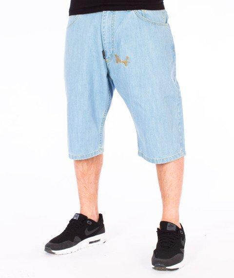 Stoprocent-Insko Shorts Jeans Spodnie Krótkie Niebieskie