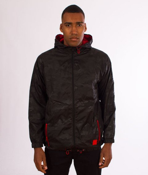Stoprocent-KW Camo Kurtka Black/Red