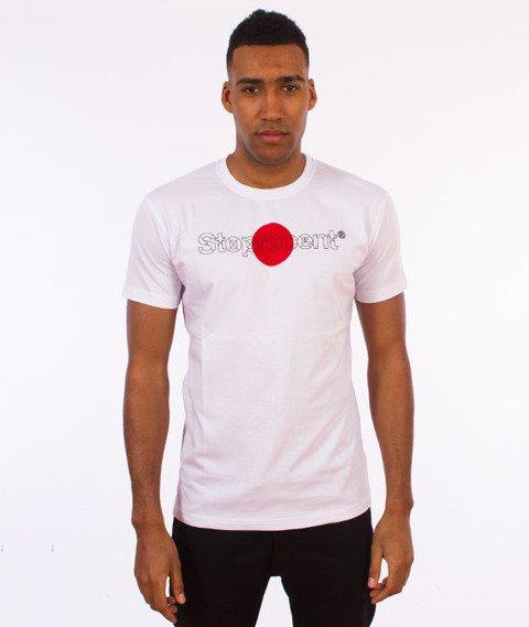Stoprocent-Kamikaze T-Shirt Biały