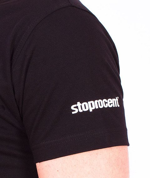 Stoprocent-Keep T-Shirt Czarny